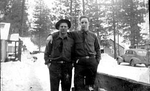 Buck Lee & Tom Bowerman<br>At Camp Icicle